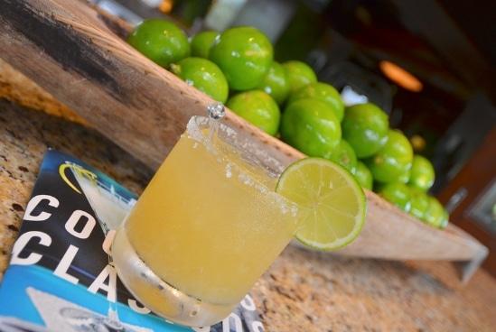 margarita on the rocks drink