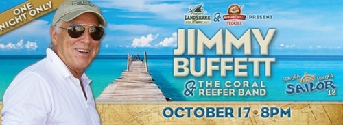 Jimmy Buffett concert date