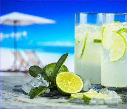 enjoy some margarita drinks